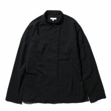 ENGINEERED GARMENTS / エンジニアドガーメンツ | Dayton Shirt - Tropical Wool Cordura - Black