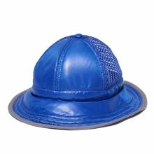 and wander / アンドワンダー | mesh hat - Blue