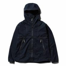 and wander / アンドワンダー | PERTEX wind jacket - Navy