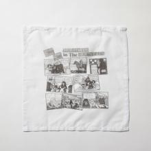 ....... RESEARCH | Handkerchief - HOLIDAYカートゥーン - White