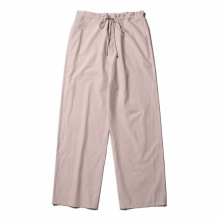 AURALEE / オーラリー | WASHED FINX TWILL EASY WIDE PANTS - Light Pink