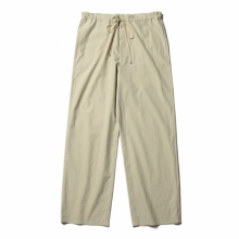 AURALEE / オーラリー | WASHED FINX TWILL EASY WIDE PANTS - Light Green