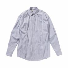 N.HOOLYWOOD / エヌハリウッド | 1201-SH06-043-pieces RANDOM TACKED SHIRT - Blue Stripe
