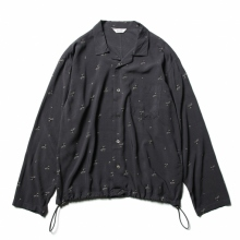 WELLDER / ウェルダー | Drawstring Shirt - Gray