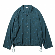 WELLDER / ウェルダー | Drawstring Shirt - Gray Green