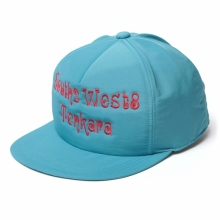 South2 West8 / サウスツーウエストエイト | Trucker Cap - C/N Cloth / S2W8 Tenkara Emb. - Turquoise
