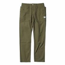 SASSAFRAS / ササフラス | FALL LEAF SPRAYER PANTS - Cotton Hemp Canvas - Olive