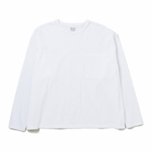 DELUXE CLOTHING / デラックス | PINA COLADA LONG SLV.TEE - White