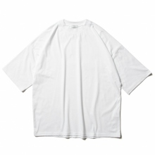 URU / ウル | COTTON MAHARANI / CREW NECK S/S TEE - White