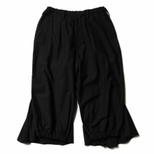 Yohji Yamamoto / ヨウジ ヤマモト | BLACK C/TWILL CROW PANTS - Black