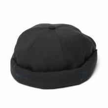 Yohji Yamamoto / ヨウジ ヤマモト | Yohji Yamamoto × New Era WOOL BLACK FISHERMAN CAP - Black