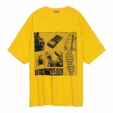 C.E / シーイー   OVERDYE AS NCLOG BIG T - Yellow