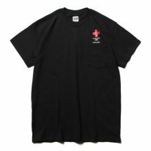 AiE / エーアイイー | Printed S/S Pocket Tee - Cross - Black