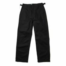 ENGINEERED GARMENTS / エンジニアドガーメンツ | EG Workaday - Fatigue Pant Printed - Chino Twill - Black