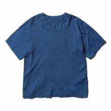 Porter Classic / ポータークラシック | HIGH NECK T-SHIRT - Blue