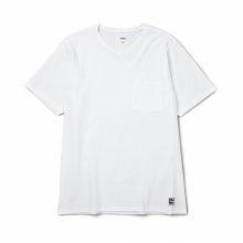 BEDWIN / ベドウィン | S/S V-NECK POCKET T 「ZIENTARA」 - White
