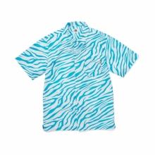 GOODENOUGH / グッドイナフ | ZEBRA PRINT S/S SHIRTS - Turquoise