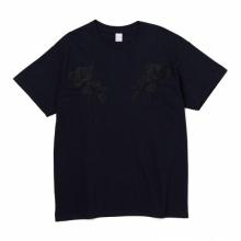 DELUXE CLOTHING / デラックス | DELUXE x EVISEN TEE (FLOWERS) - Black