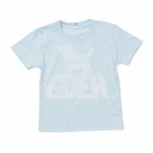 GOODENOUGH FOR KIDS / グッドイナフ フォー キッズ | GDEH DOG TEE (KIDS) - Saxe