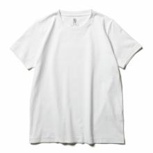 BATONER / バトナー   PACK T-SHIRT (DEGREASE COTTON) (レディース) - White