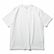 BATONER / バトナー   PACK T-SHIRT (DEGREASE COTTON) (メンズ) - White