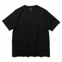 BATONER / バトナー   PACK T-SHIRT (DEGREASE COTTON) (メンズ) - Black