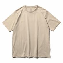 BATONER / バトナー   PACK T-SHIRT (DEGREASE COTTON) (メンズ) - Ecru