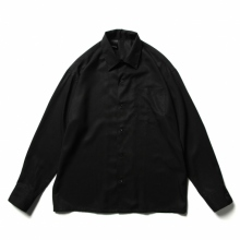 N.HOOLYWOOD / エヌハリウッド   2211-SH06-026-peg OPEN COLLAR SHIRT - Black