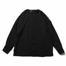 N.HOOLYWOOD / エヌハリウッド   2211-SH25-006-peg COLLARLESS SHIRT - Black