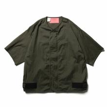 N.HOOLYWOOD / エヌハリウッド   9211-SH08-018-pieces SHORT SLEEVE SHIRT - Khaki