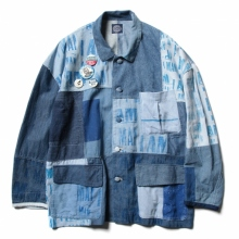 Porter Classic / ポータークラシック | H/W CIVIL RIGHTS BLUE JACKET - Blue