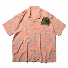 Porter Classic / ポータークラシック | ALOHA SHIRT COLORFUL HAWAII - Sunset Orange