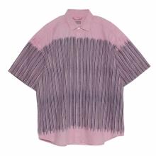 C.E / シーイー | STRIPE SHORT SLEEVE SHIRT - Pink