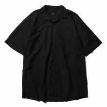 COMOLI / コモリ | ベタシャン オープンカラーシャツ - Black