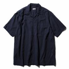 COMOLI / コモリ | ベタシャン オープンカラーシャツ - Navy