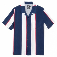 STUSSY / ステューシー | Big Stripe Shirt - Navy