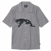 STUSSY / ステューシー | Panther Shirt - Grey