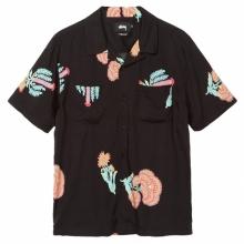 STUSSY / ステューシー | Hana Printed Shirt - Black