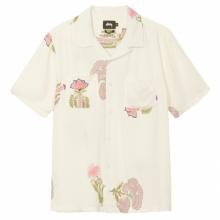 STUSSY / ステューシー | Hana Printed Shirt - White