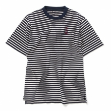 ....... RESEARCH | Border Tee - Off White × Navy