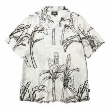 STUSSY / ステューシー | Banana Tree Shirt - Off White