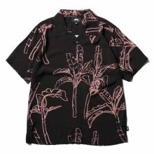 STUSSY / ステューシー | Banana Tree Shirt - Black