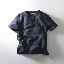 CURLY / カーリー | SS POP OVER TEE SS - Navy