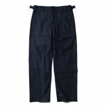 ENGINEERED GARMENTS / エンジニアドガーメンツ | EG Workaday Fatigue Pant - Cotton Reversed Sateen - Dk. Navy