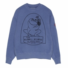 C.E / シーイー | OVERDYE EASILY COMFORTABLE CREWNECK - Blue