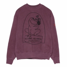 C.E / シーイー | OVERDYE EASILY COMFORTABLE CREWNECK - Purple