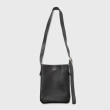 Hender Scheme / エンダースキーマ | one side belt bag small - Black