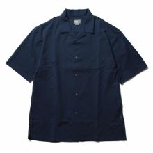 THE NORTH FACE / ザ ノース フェイス | S/S Open-Collared Knit Shirt - CM コズミックブルー