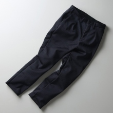 CURLY / カーリー | TRACK TROUSERS - Charcoal Check