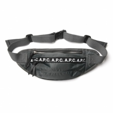A.P.C. / アーペーセー | Lucille ヒップバッグ - Charcoal Gray